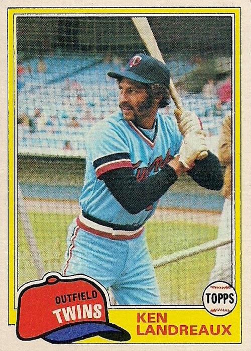 1981 Topps Ken Landreaux