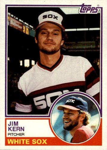 1983 Topps Jim Kern