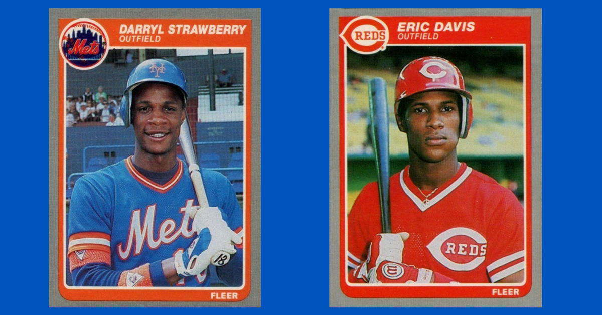 How Two 1985 Fleer Baseball Cards Inspired The Los Angeles Dodgers