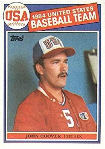 1985 Topps Olympic Team USA John Hoover