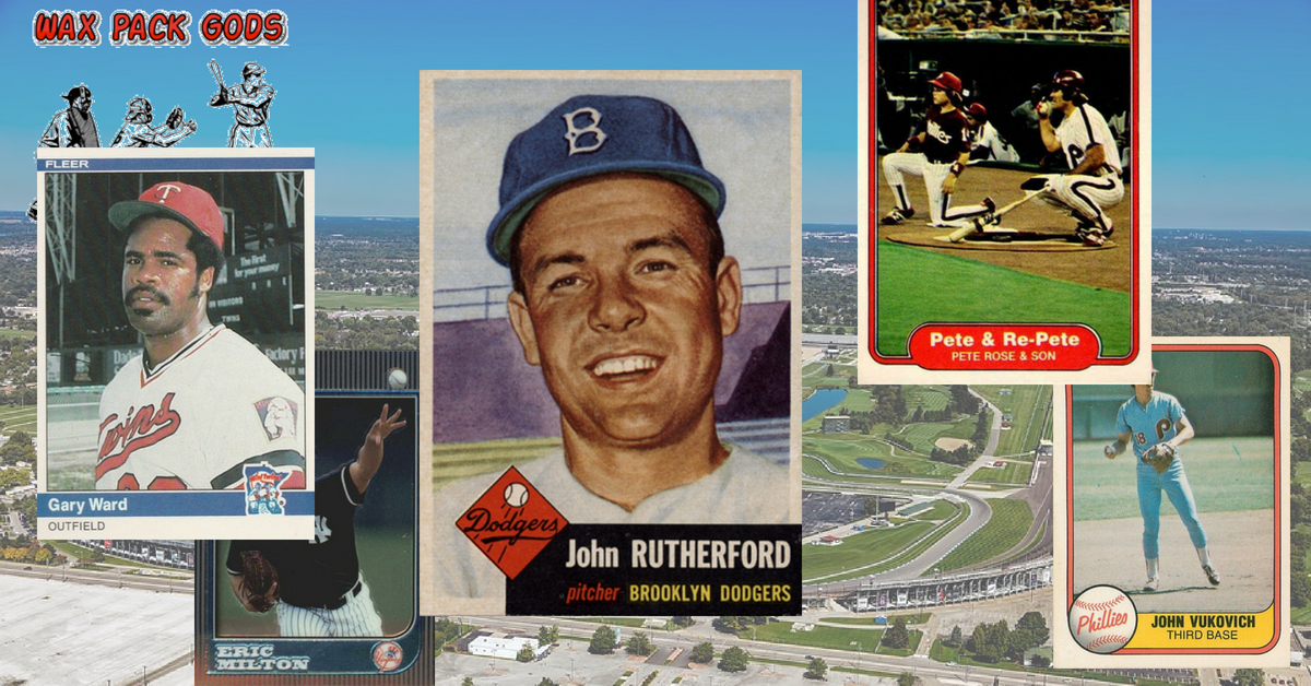 Brothers in Asphalt and Cardboard? Indianapolis 500 Winners and Their Baseball Card Namesakes