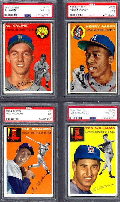 1954 Topps Baseball Complete Set