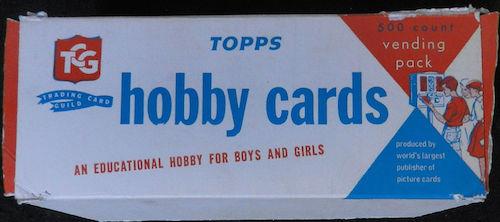 1967 Topps Unopened Vending Box