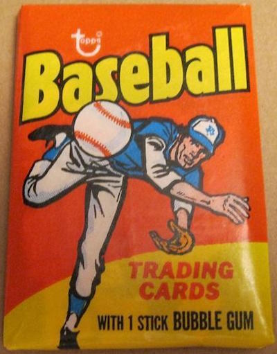 1975 Topps Unopened Wax Pack