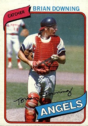 1980 Topps Brian Downing