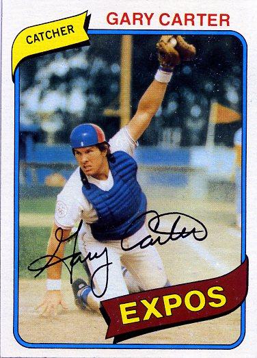1980 Topps Gary Carter