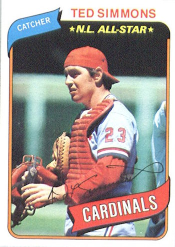 1980 Topps Ted Simmons