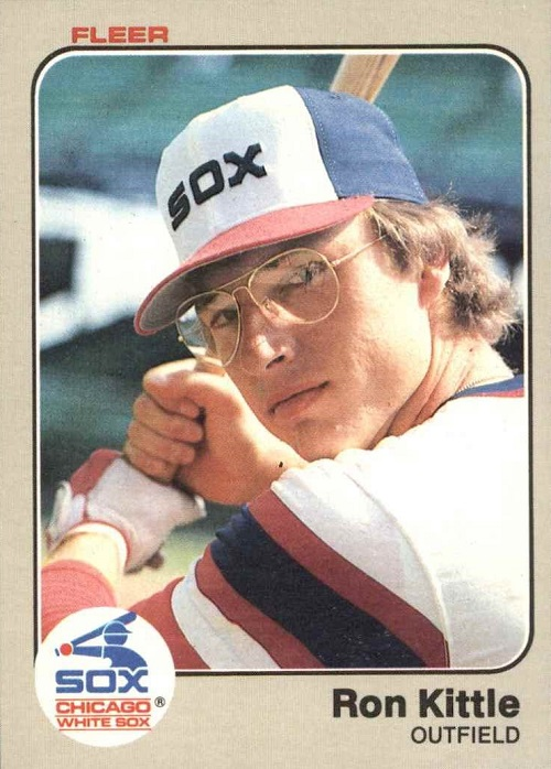 1983 Fleer Ron Kittle