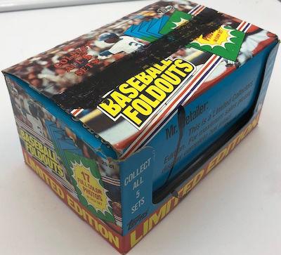 1983 Topps Baseball Foldouts Unopened Box