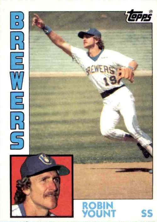 1984 Topps Robin Yount