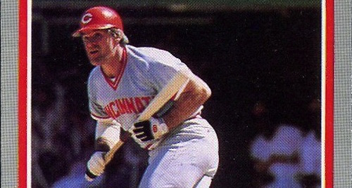 The Hit King Is Also King of the 1985 Fleer Baseball Card Set