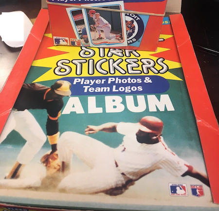 1985 Fleer Star Stickers Unopened Box and Albums