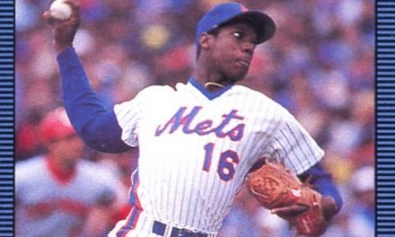 Dwight Gooden Defined 1986 on His Second Donruss Baseball Card