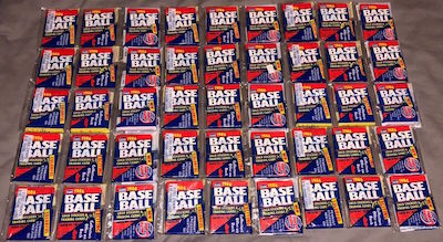 1986 Fleer Unopened Rack Packs