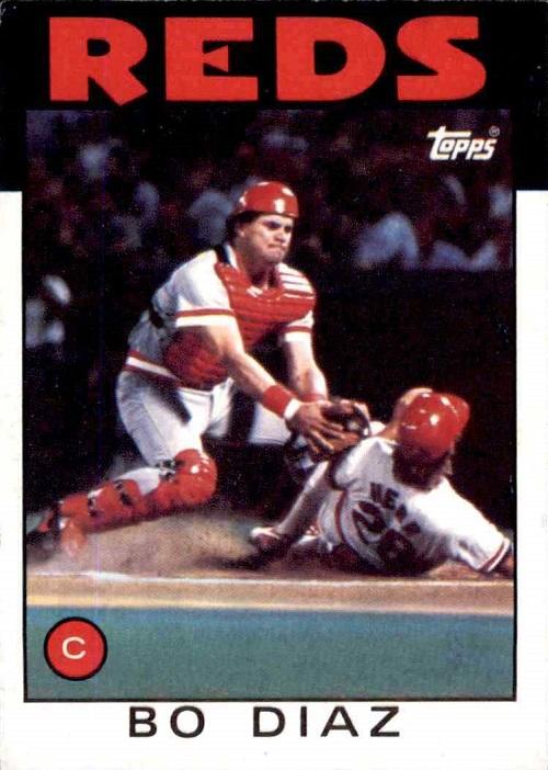 1986 Topps Bo Diaz