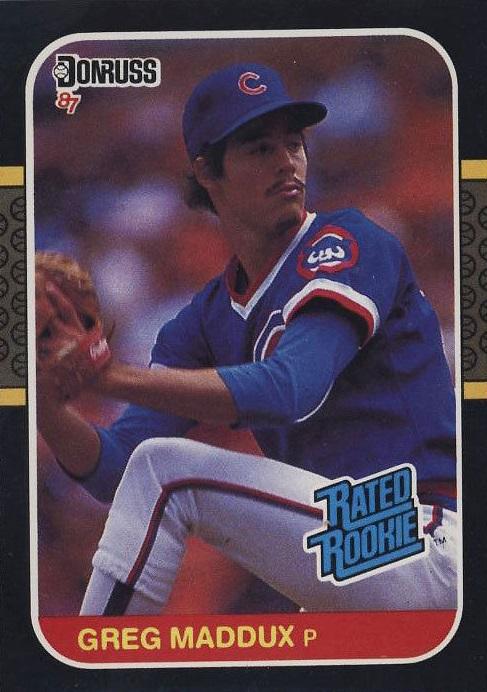 1987 Donruss Greg Maddux Rookie Card