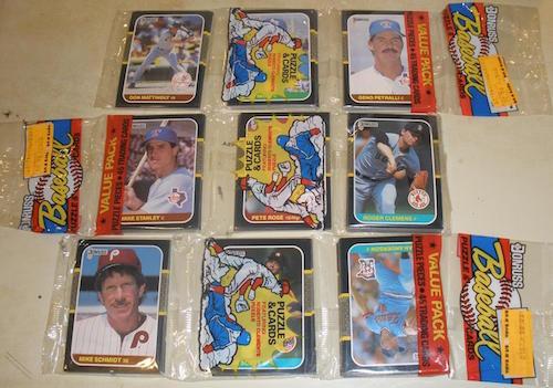 1987 Donruss Rack Packs
