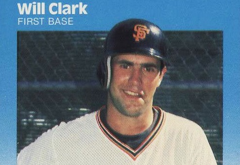 1987 Fleer Will Clark Rookie Card Still An Icon After All These Years