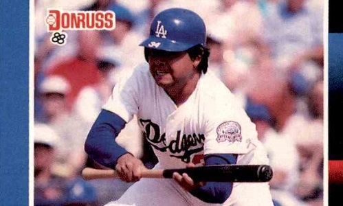 1988 Donruss Fernando Valenzuela Refused to Sacrifice Curb Appeal