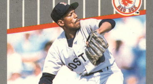 1989 Fleer Oil Can Boyd Doesn't Give an F-Face About Your Error Card