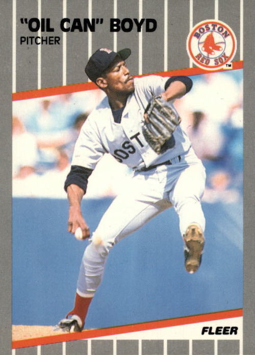 1989 Fleer Oil Can Boyd