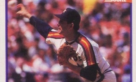 1989 Score Nolan Ryan an Express Train Out of Mediocrity