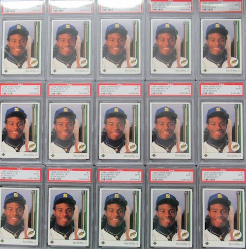 1989 Upper Deck Ken Griffey Rookie Cards
