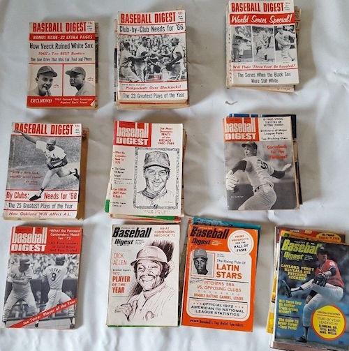 Baseball Digest 1964-1975