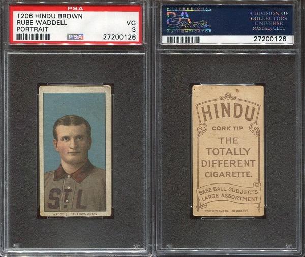 1909-11 T206 Rube Waddell
