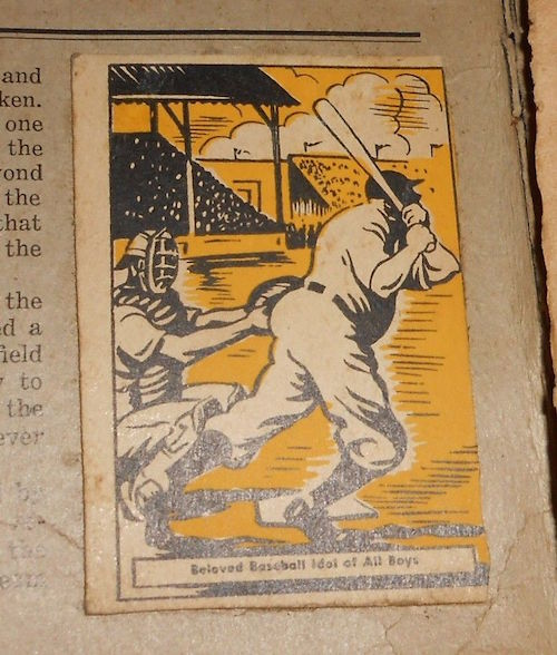 1937 Donut Corporation of America Thrilling Moments Complete Set with Babe Ruth