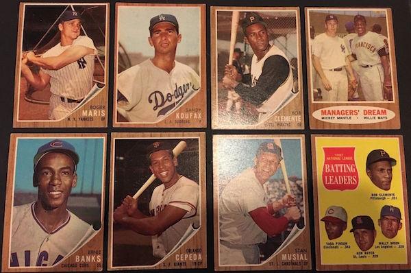 1962 Topps Baseball Complete Set