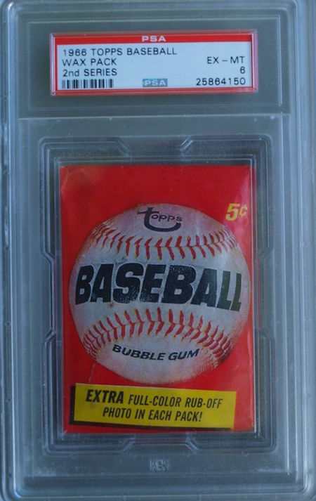 1966 Topps Baseball Wax Pack 2nd Series