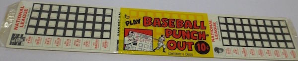1967 Topps Punch-Outs Unopened Pack