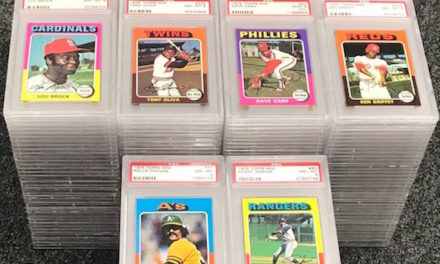Flash Market Report — What Old Baseball Cards Sold Big this Week?  (7/8/2018)