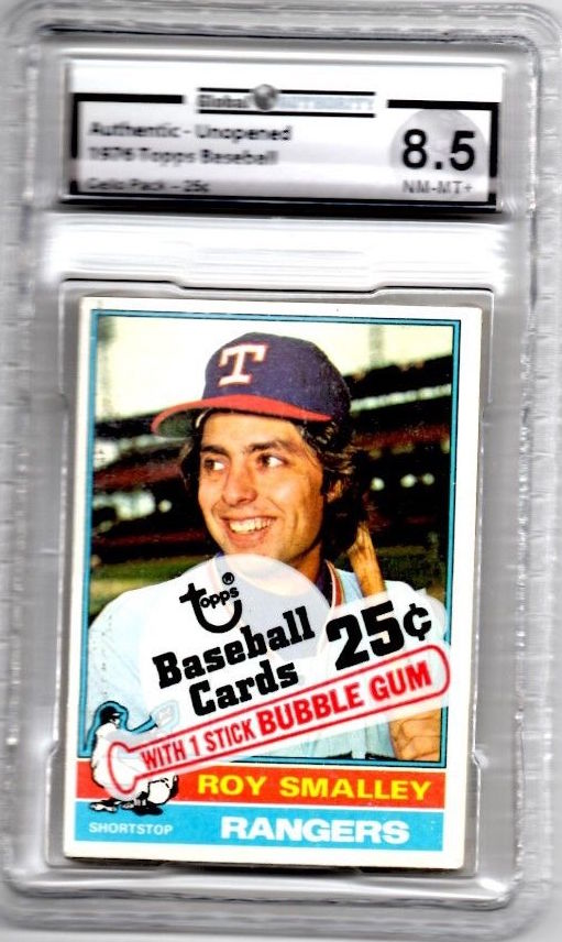 1976 Topps Baseball Unopend Cello Pack