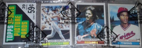 1979 Topps Baseball Unopened Rack Pack Dennis Eckersley