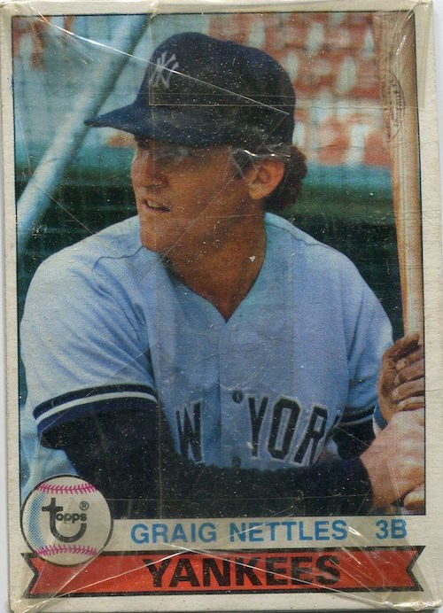 1979 Topps Burger King New York Yankees Unopened Pack Graig Nettles