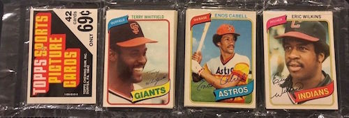 1980 Topps Baseball Rack Pack