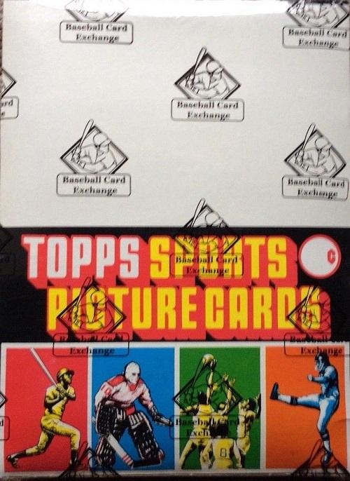 1980 Topps Baseball Unopened Rack Pack Box