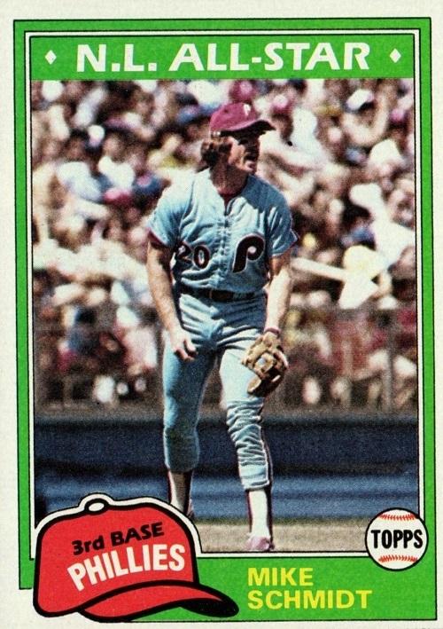 1981 Topps Mike Schmidt