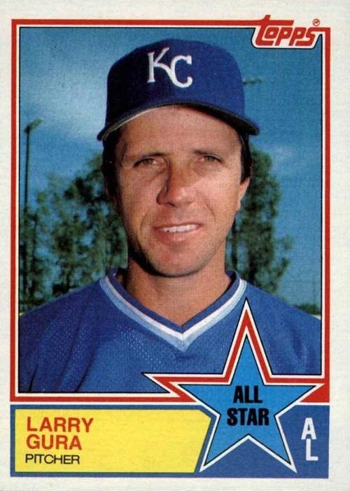 1983 Topps All-Star Larry Gura