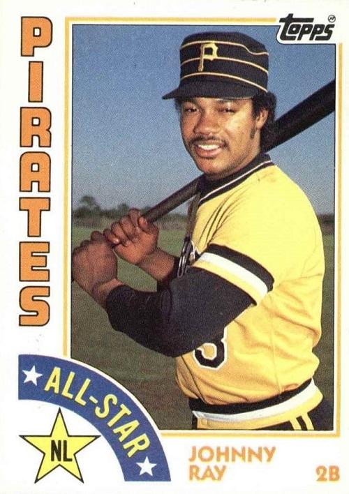 1984 Topps All-Star Johnny Ray