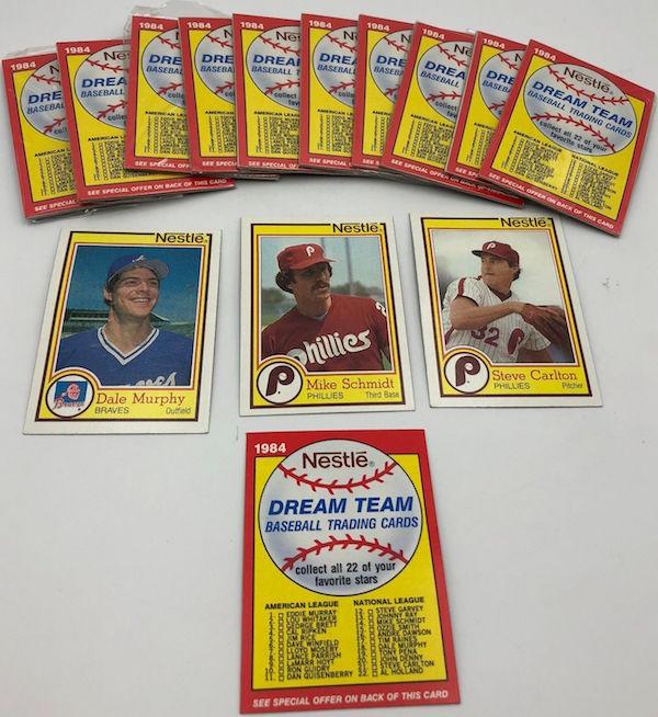 1984 Topps Nestle Dream Team Unopened Baseball Trading Card