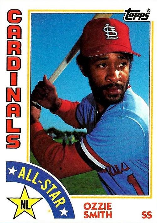1984 Topps Ozzie Smith All-Star