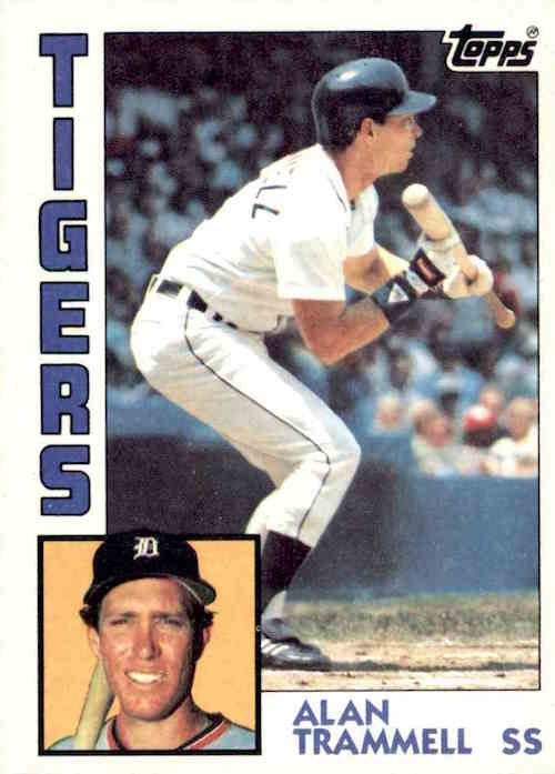 10 Great Alan Trammell Baseball Cards Every Serious