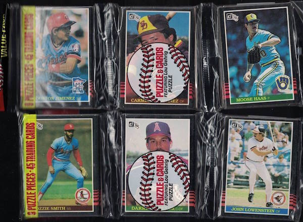 1985 Donruss Rack Packs