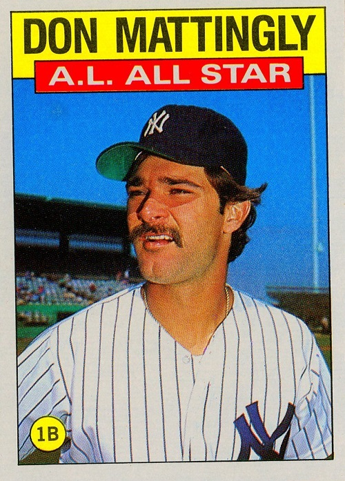 1986 Topps Don Mattingly All-Star
