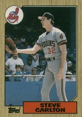 1987 Topps Traded Steve Carlton