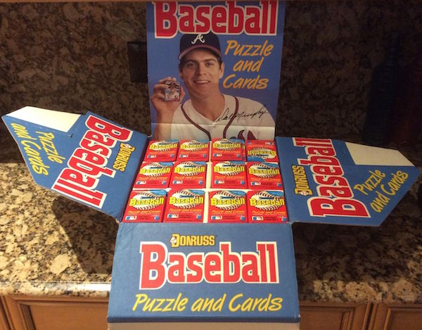 1988 Donruss Counter Display (216 Wax Packs)