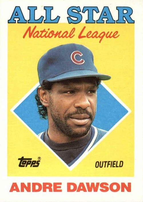 1988 Topps Andre Dawson All-Star